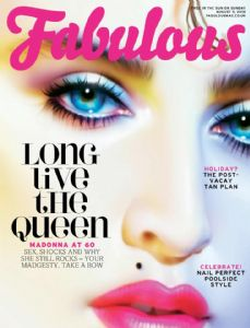 FABULOUS - UK  1-DAY ONLY MAGAZINE (AUGUST 2018)